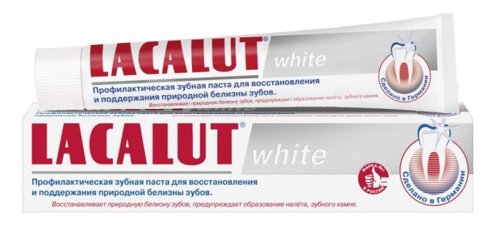 Lacalut beyazı