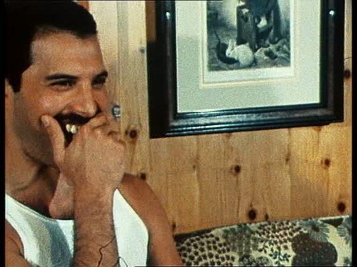 Freddie dişlerini korur