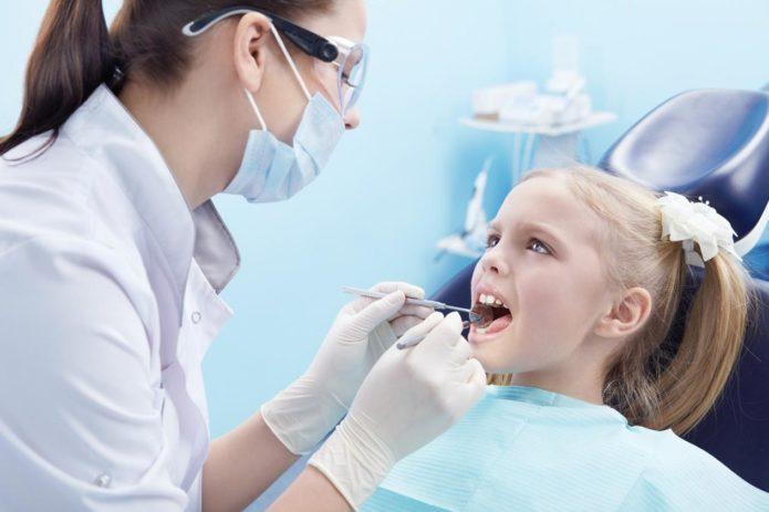 Çocuk dişçide